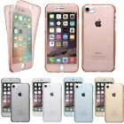 NEW Slim 360° Silicone Protective Crystal Shockproof Case Cover Skin for iPhone