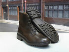"Trickers size 11 Espresso ""Burford"" Plain Derby Boot on a Commando Rubber Sole"