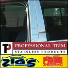 Professional Trim Stainless Steel Pillar Post for 2007-2009 Saturn Aura 4PC Set
