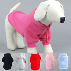 Cute Pet Dog puppy Sweatshirt Jacket Clothes Hoodie Costume Coat  Apparel Jumper