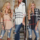 Fashion Womens Loose Long Sleeve Casual Blouse Shirt Tops New Fashion Blouse New