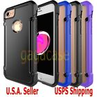 High-End Hybrid Rubber Shockproof Protective Cover Case For iPhone 7 & 7 Plus +