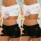 Women Black White Panties Lace Lingerie Underwear G-string Thong Briefs Knickers