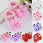 Toddler Girl Crib Shoes Baby Bowknot Soft Sole Anti-slip Sneakers Newborn to 18M
