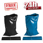EXTRA STRONG HEAVY DUTY BLACK BLUE RUBBLE BAGS/SACKS BUILDERS NEXT DAY EXPRESS!