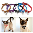 Cat Soft Collar Puppy Pet Kitten Adjustable Safety Buckle Neck Strap & Bell