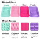 Anself Silicone Makeup Brush Cleaning Mat Durable to use 4 Colors B9L2