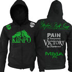 Stryker Kenpo Fight Hands Zip-Up Hoody NHB bjj new UFC MMA w FREE Tapout Sticker
