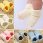 Baby Newborn Winter Warm Boots Toddler Infant Soft Socks Booties Shoes JR