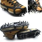 18 Teeth Antislip Ice Snow Shoe Spikes Outdoor Mountaineering Hiking Crampons