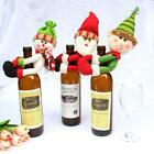 Red Christmas Decoration Santa Tree Wine Bottle Cover Bag Dinner Party Gift Xmas