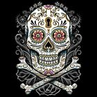 Floral Skull T Shirt Pick Your Size Youth Small to 6 X Large image