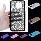 Stylish Carved Damask Pattern Hard Case Cover For Samsung Galaxy S7/S7 Edge Case