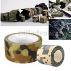 5/10M Military Camouflage Camo Roll Tape Stealth Bandage Wrap Hunting Camping