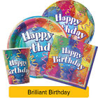 BRILLIANT BIRTHDAY General Happy Birthday PARTY RANGE (Decorations & Tableware)