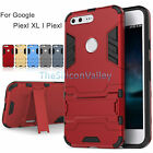 For Google Piexl XL / Piexl Case Hard Kickstand Hybrid Protective Cover Armor