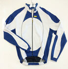 ORIC Windproof CYCLING JACKET - White and Blue - Made by Inverse