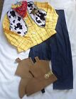 BOYS SIZE 9-10 WOODY FROM TOY STORY 3 DISNEY STORE COSTUME NWT