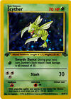 1st Edition Scyther Holographic Jungle Pokemon Card 10/64  NM & Never played
