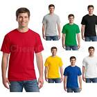Exquisite Men T-Shirt Crew Neck Blank Basic Plain Tee Short Sleeve New Tops JR
