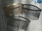Metal Hair Combs 3 colours  Bridal Prom Wedding Hair Accessories Alloy