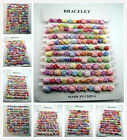 FREE lot 12PCS different styles Acrylic bracelet Children's Dress Girl up gifts