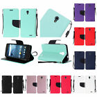 WHOLESALE 5X LOT For ZTE Avid Trio ZTE Cheers PU Leather Wallet Cover Case