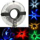 2 X Bicycle Motorcycle Bike Tyre Tire Wheel Valve 8 LED Flash Spoke Light Lamp