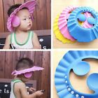 Bathroom Soft Shower Cap Wash Hair Cover Head Hat for Child Toddler Kids Bathing