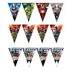 FLAG BANNER Licensed MARVEL Characters (Party/Birthday/Decoration/Bunting)