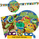 HALF SHELL HEROES Birthday Party Range (Tableware & Decorations) TNMT Amscan