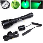 Red/Green Light Tactical Q5 LED Flashlight Hunting Torch Rifle Rail Scope MountLights & Lasers - 106974