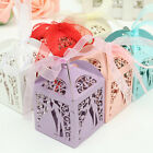 10/50/100X Sweet Married Wedding Favor Box Gift Boxes Candy Paper Party Boxes