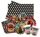 The MUPPETS Party Pack {Tablecover/Cups/Plates/Napkins} (Birthday/Kermit)