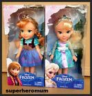 FROZEN DISNEY Princess ANNA & ELSA TODDLER GIRLS DOLLS SET - NEW IN BOX