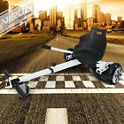 Hoverkart für Hoverboard Self Balance Scooter E-Scooter Sitz GoKart Hoverseat