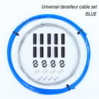 NEW Bicycle Derailleur/Brake Cable Uniserval Bike Shift Wire Cycling Housing Kit