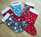 Brand New PERSONALISED CHRISTMAS STOCKING - various designs