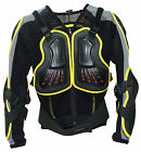KIDS YOUTH BODY ARMOUR JACKET - MTB DOWNHILL SKATE SCOOTER BMX CYCLE 2 SIZES