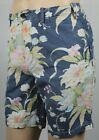 Polo Ralph Lauren Blue Floral Straight Fit Chino Shorts NWT
