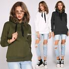 Womens Mens Sweatshirt Hoodies Top Hip Hop Jumper Pullover 3 Colors S M L Hot