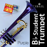 More images of Purple CIBAILI  Bb Trumpet • Perfect for School Student • Brand New • With Case