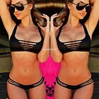 Sexy Women Bandage Push Up Bikini Set Padded Bra Swimsuit Triangle Swimwear SML