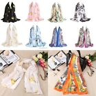Stylish Women Silk Long Soft Casual Digital Printed Shawl Ccarf Winter 9 B20E