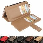 PU Leather Stand Wallet Flip Purse Case Cover Skin For Google Pixel Cell Phone