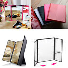 Illuminated Magnifying Makeup Mirror 8 LED Light Cosmetic Vanity Handbag Travel