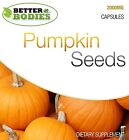 Pumpkin Seed Tablets 2000mg HIGH Strength Mens Male Health Supplement $12.31 USD on eBay