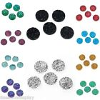 20PCs Irregular Surface Round Resin Embellishments Cabochons Jewelry