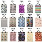 1 U PICK Large Hanging Wet/Dry Pail Bag Cloth Diaper,Insert,Laundry,Two Zippered