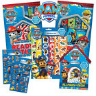PAW PATROL - Activity & Sticker Books/Pads/Sheets (Kids/Gift/Xmas/Fun)